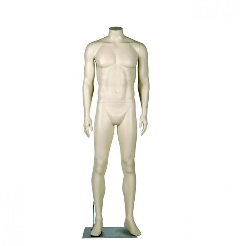 "Darrol Herre 700 serie. Hovedløs mannequin med ""Neck-Lock"" system"