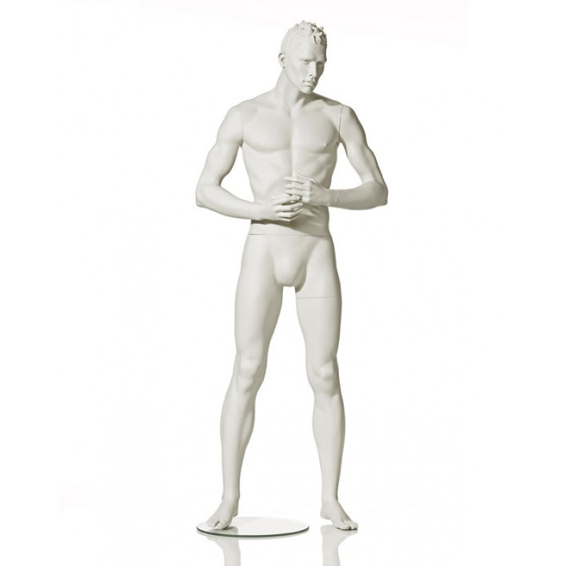 MALE MANNEQUIN - STYLISED - HANDS IN FRONT - HINDSGAUL