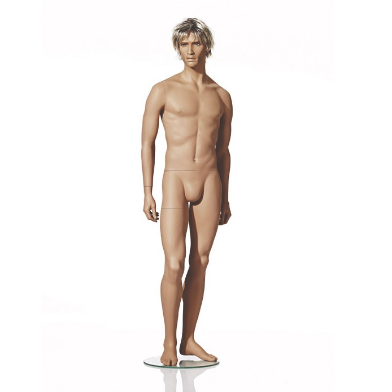 MALE MANNEQUIN – NATURALISTIC  - RELAXED POSE – HINDSGAUL
