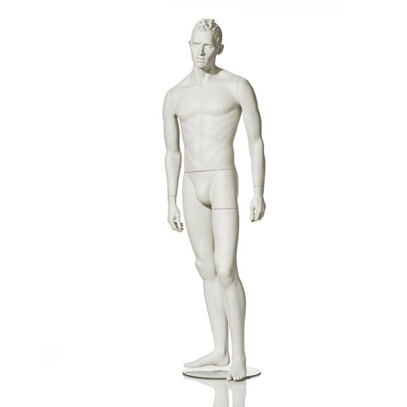 MALE MANNEQUIN – STYLISED - LEFT LEG BENT - HINDSGAUL