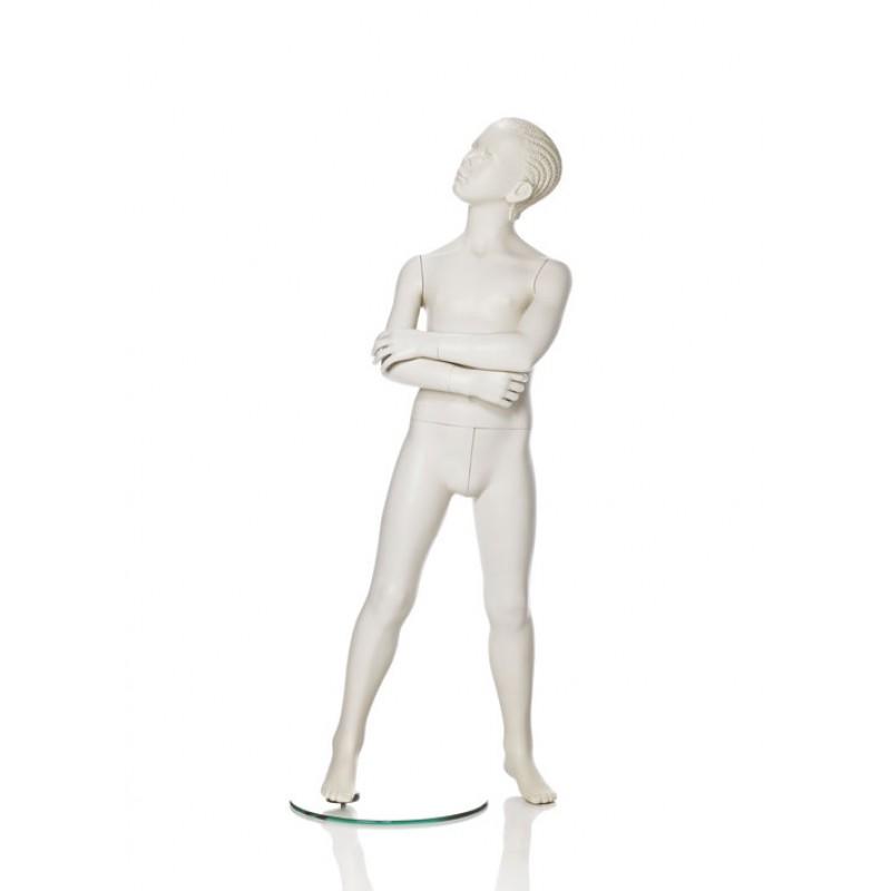 Hindsgaul stilistisk pige. Højde 120 cm