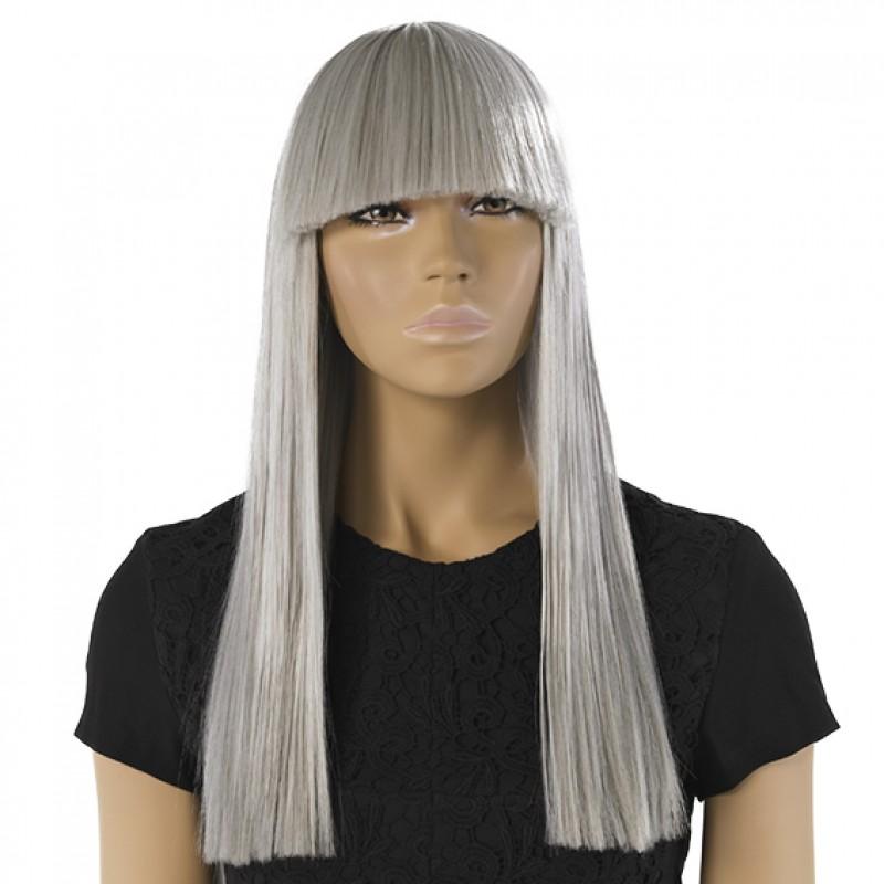 Grau perücke Ebba für Damenfiguren