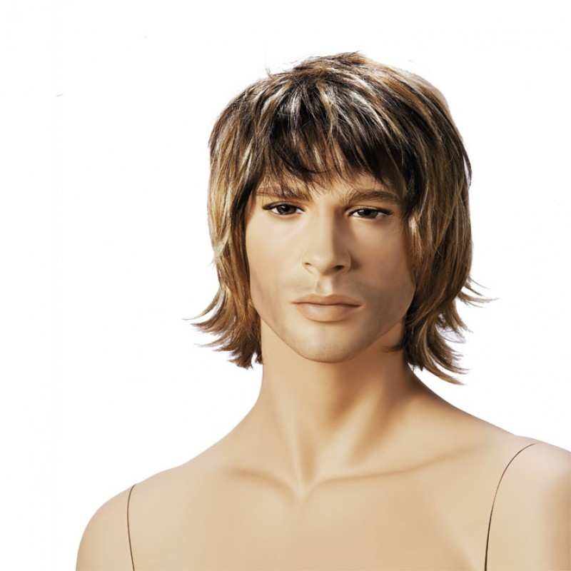 Adam - paryk til herremannequin