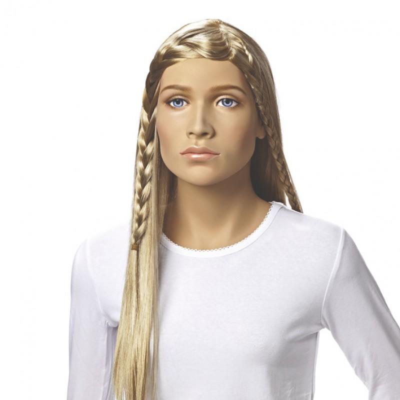 Bibi - paryk til tweenmannequin