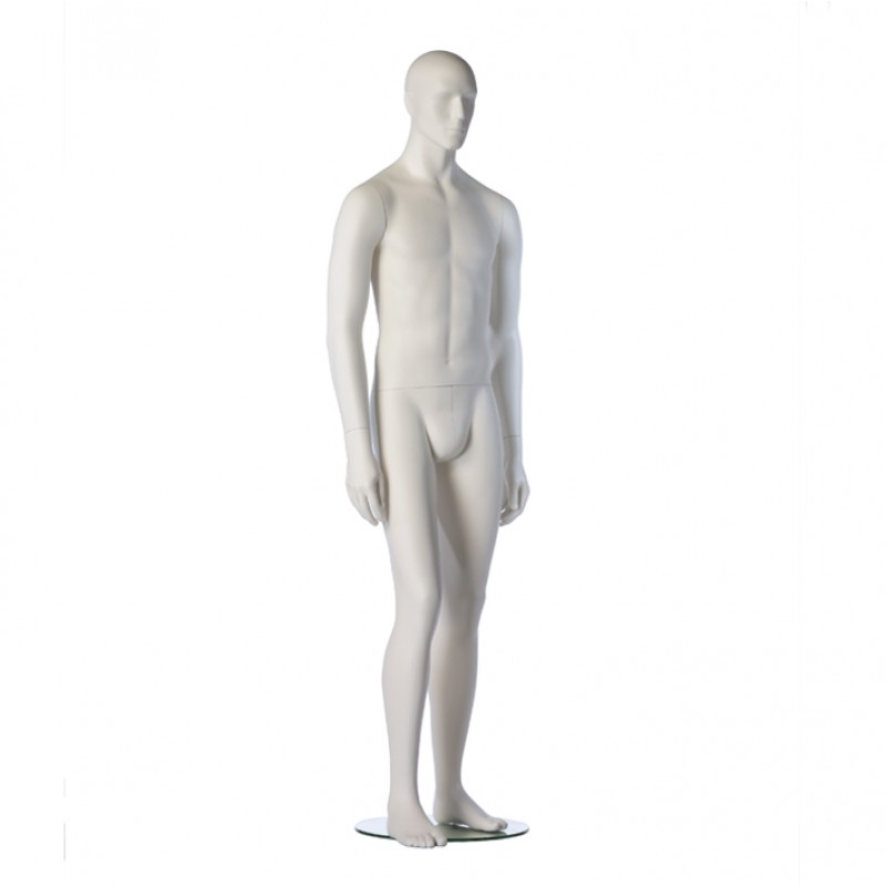 MALE MANNEQUIN – ROY – HINDSGAUL – SLIM FIT – WHITE – RELAXED POSE
