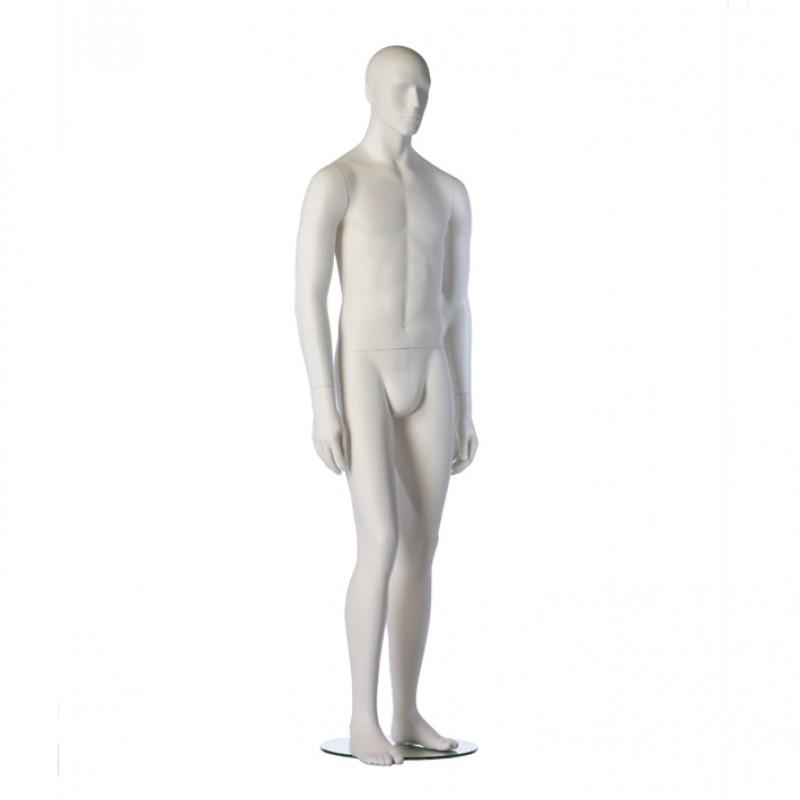 Hindsgaul Roy - Hvid. Slim Fit mannequin