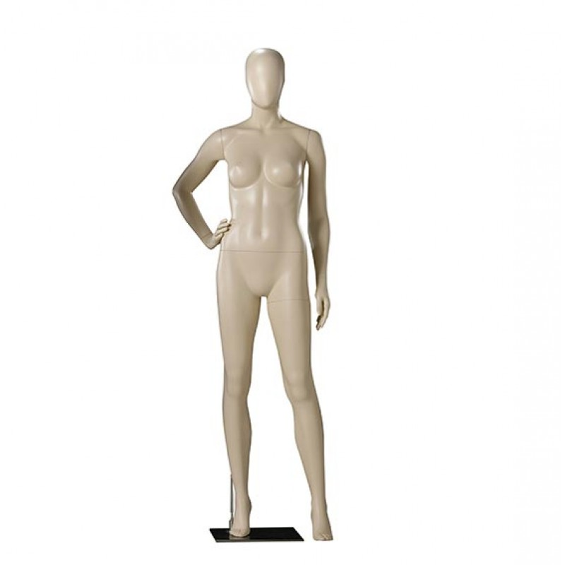 ABSTRACT FEMALE MANNEQUIN - DARROL – 900 SERIES – HAND ON HIP