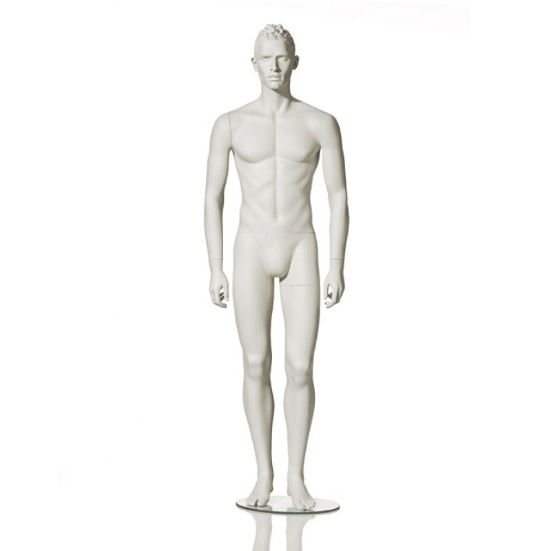MALE MANNEQUIN - STYLISED - NEUTRAL POSITION - HINDSGAUL