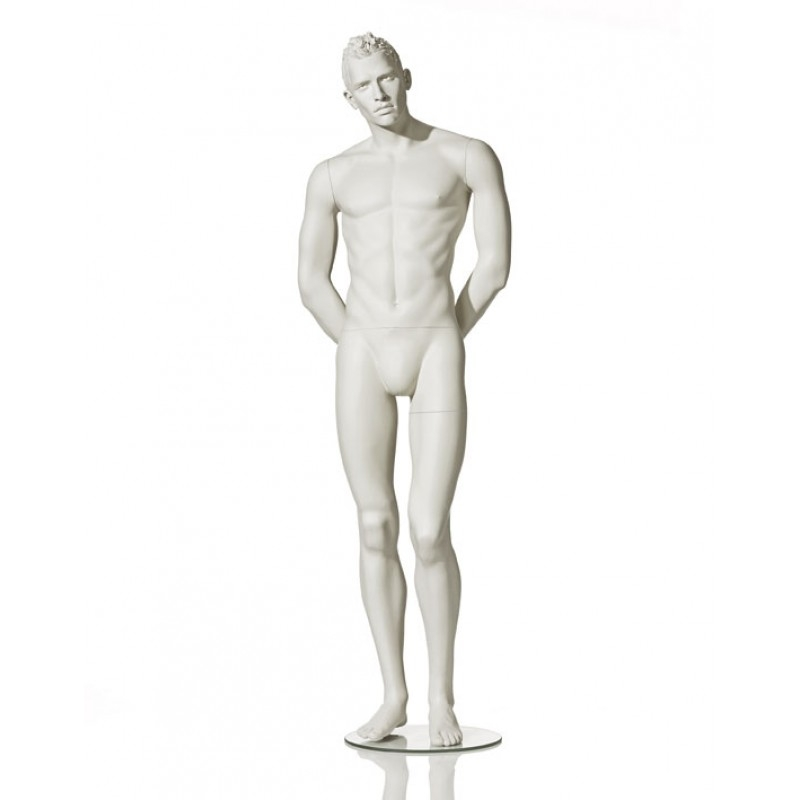 MALE MANNEQUIN - STYLISED - HANDS BEHIND BACK - HINDSGAUL