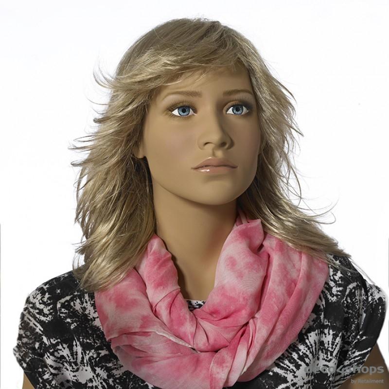 Stylet paryk til tweenmannequin