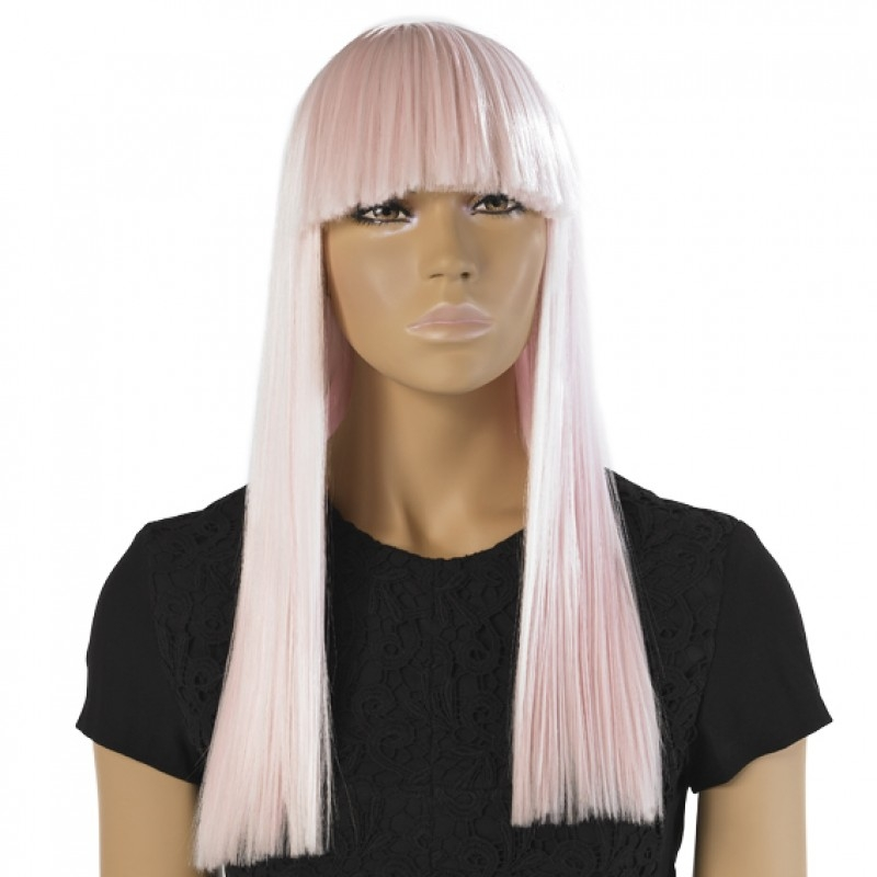 Mae - pink wig for female mannequins
