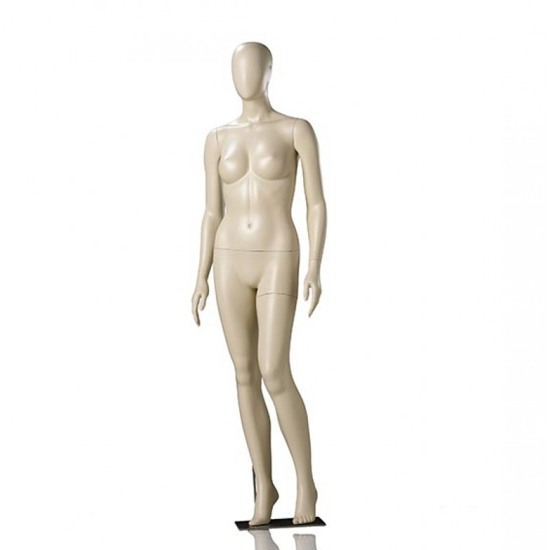 ABSTRACT FEMALE MANNEQUIN - DARROL - 900 SERIES - RELAXED POSE